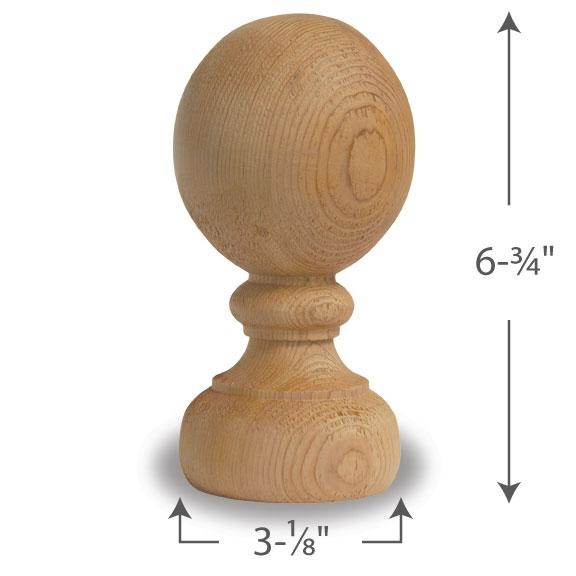 Mr Spindle Inc 4 Quot Finials Amp Ball Tops 1 800 487 9663
